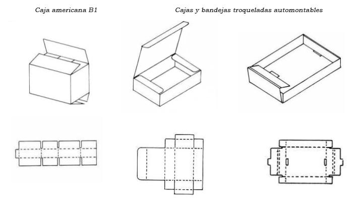tipos de cajas