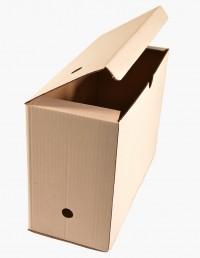 Archivador carton blanco